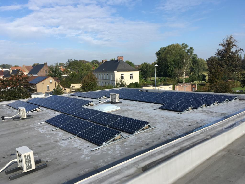 PV installatie in Kruisem